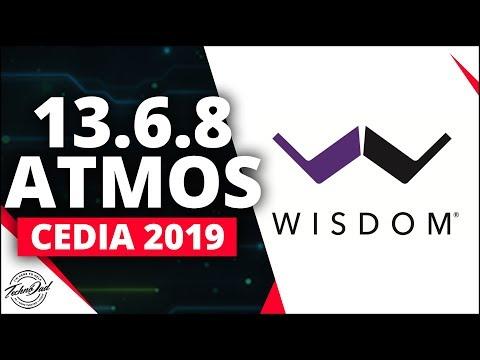 INSANE $860K 13.6.8 Dolby Atmos Setup! Wisdom Audio Demo Room | CEDIA 2019 Trinnov Altitude 32