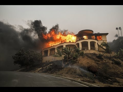 California Fires LIVE COVERAGE -Thomas Fire, Creek Fire, Rye Fire - BREAKING NEWS