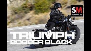 3. Prueba Triumph Bonneville Bobber Black 2018 [FULLHD]
