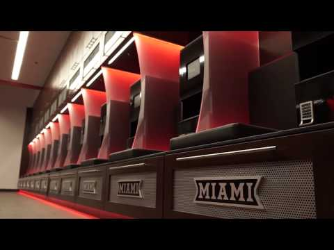 Miami University Football - Athletic Performance Center Tour - 2/1/2017