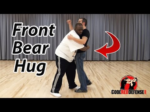 Defense Against A Front Bear Hug