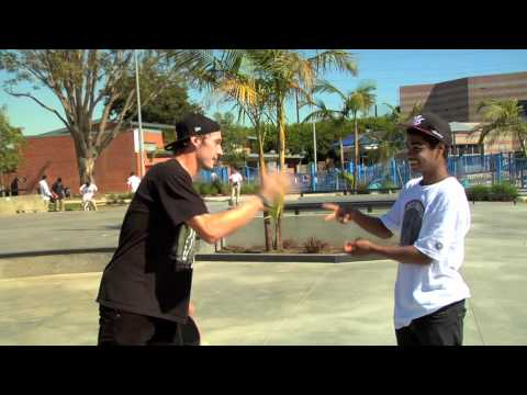 Tomas Vintr vs Lamont Holt Games of Skate