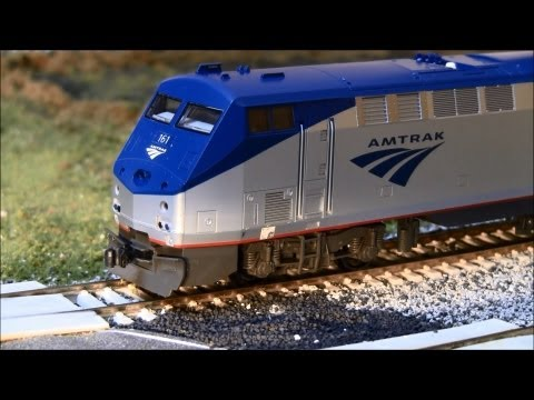 ho scale - Check out both sound versions of Kato's P42. Tsunami or Loksound equipped.