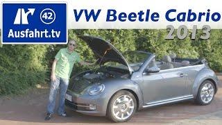 2013 Volkswagen VW Beetle Cabriolet 2.0 TDI 70's -  Fahrbericht Der Probefahrt / Test / Review