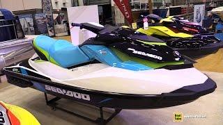 9. 2015 Sea Doo GTI 130  Jet Boat - Walkaround - 2015 Quebec Boat Show