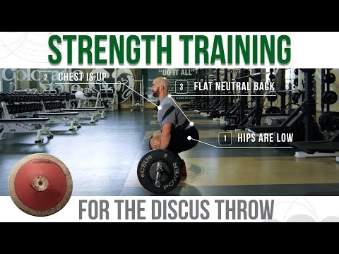 Strength Training for the Discus Throw
