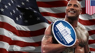"""WASHINGTON — Ever since Dwayne Johnson told GQ he could see politics in his future, the world has been captivated by a Rock presidency. """"Run the Rock 2020"""" was filed on behalf of Johnson with the Federal Election Commission on Sunday, according to FEC records, the Hill reported.    The paperwork was submitted by a man named Kenton Tilford under a West Virginia address, while his connection to Rock is not clear.  The Rock probably doesn't even know this campaign committee exists, but just think of the possibilities. The Rock told GQ, """"I feel that if I were president, poise would be important. Leadership would be important."""" Who has better poise than a pro wrestler?  The Rock is probably the only candidate who can seriously give Trump a run for his  money in 2020. With the Rock as president, we won't even need to employ any Secret Service. But best of all, we can just send in our president rather than the troops to deal with threats like North Korea, Russia and China. Would you vote for the Rock?-------------------------------------------------------------Go to https://www.patreon.com/tomonews and become a Patron now TomoNews is now on Patreon and we've got some cool perks for our hardcore fans.TomoNews is your best source for real news. We cover the funniest, craziest and most talked-about stories on the internet. Our tone is irreverent and unapologetic. If you're laughing, we're laughing. If you're outraged, we're outraged. We tell it like it is. And because we can animate stories, TomoNews brings you news like you've never seen before.Visit our official website for all the latest, uncensored videos: http://us.tomonews.comCheck out our Android app: http://bit.ly/1rddhCjCheck out our iOS app: http://bit.ly/1gO3z1fGet top stories delivered to your inbox everyday: http://bit.ly/tomo-newsletterSee a story that should be animated? Tell us about it! Suggest a story here: http://bit.ly/suggest-tomonewsStay connected with us here:Facebook http://www.facebook.com/TomoNewsUST"""