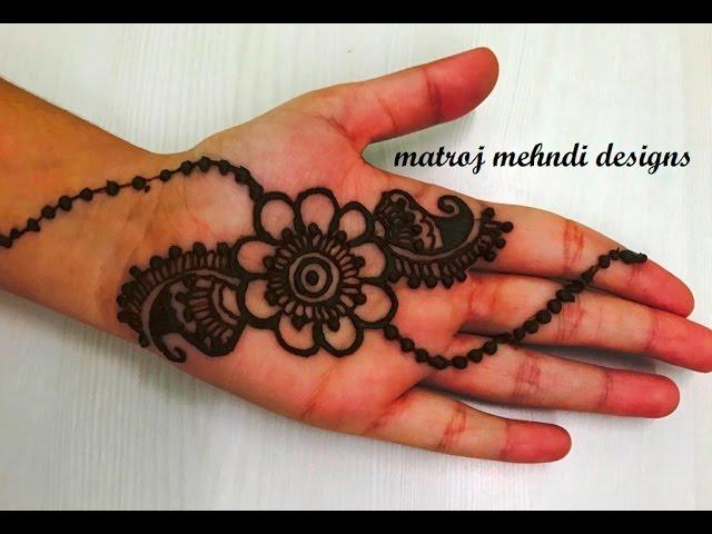 Mehndi Design Tutorial Download : Very easy simple mehndi henna designs for hands kids