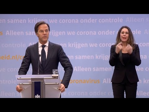 20 januari 2021: inleidend statement premier Rutte en minister De Jonge
