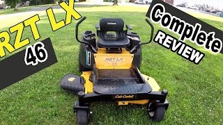 3. Cub Cadet zero turn review - RZT LX46