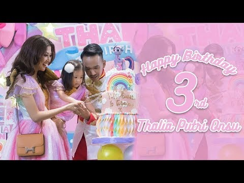The Onsu Family - Thalia Birthday Vlog