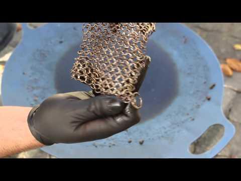 061 - Reinigung Grillschale mit dem Ringreiniger von Petromax