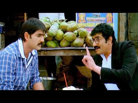 All The Best Telugu Movie Scenes - Ambaji Hilarious Comedy Scene - Rao Ramesh, Srikanth