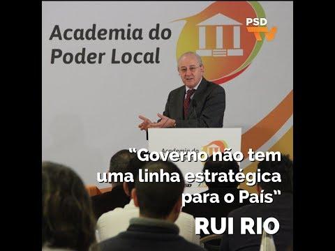 """Rui Rio: """"Governo não tem uma linha estratégica para o País"""""""