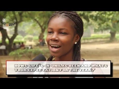 TEST VIDEO: Unilag students reveal how 'Life on Unilag' really is and expectations for 2016