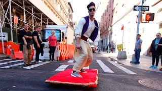 Video ALADDIN MAGIC CARPET PRANK MP3, 3GP, MP4, WEBM, AVI, FLV September 2018
