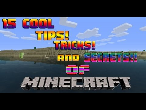 15 Cool Tricks, Tips and Secrets of Minecraft! (For Starters)