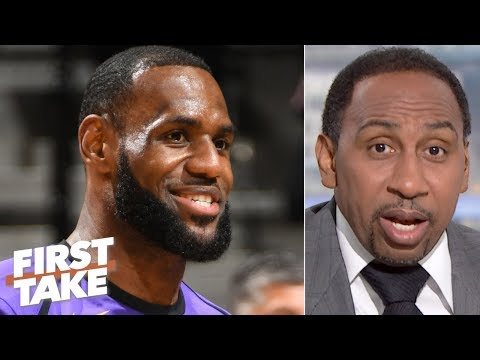 Video: Stephen A. calls for the Lakers to be ranked higher than 4th among title contenders | First Take