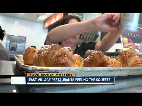 Restaurants in San Diego's East Village feeling the squeeze