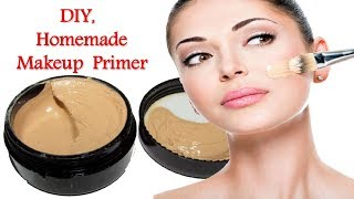 How to make Makeup Primer under Rs.30 naturally at home\\long lasting for all type skin in hindi..
