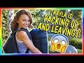 KAYLA IS PACKING UP AND LEAVING | We Are The Davises