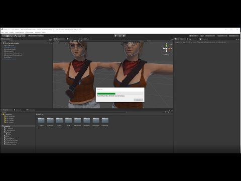 Tutorial - Mesh Baker to combine iClone characters in Unity