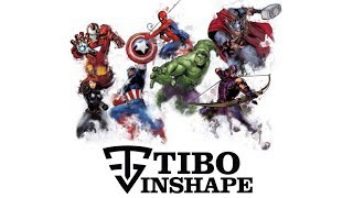 The Avengers - Team Shape (C'est la Team Shape - Tibo InShape)