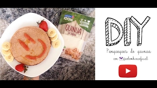 DIY Panqueques de harina de Quinua