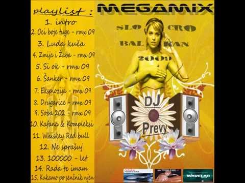 Dj Prevy Cro & Slo Balkan Megamix 2009 (2)