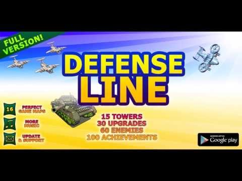 Video of tower defense Line Demo
