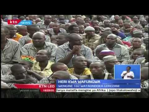 KTN leo:  Wafungwa waliohukumiwa kifo waondolewa kifungo hicho na Rais Kenyatta, Octoba 24 2016