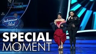 Video Bunda Maia mencontohkan Jodie berjalan dengan heels! - Spekta Show Top 10 - Indonesian Idol 2018 MP3, 3GP, MP4, WEBM, AVI, FLV April 2019