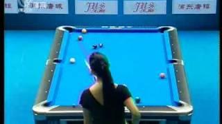 2009 World Pool 9-Ball China Open Lee(李珍妮) V Chang(張舒涵) 7/8.