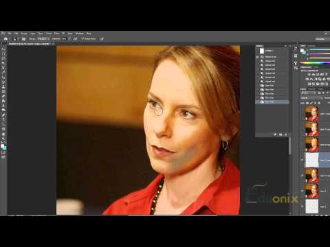 Adobe Photoshop Tutorial 32 - Dodge Burn and Sponge