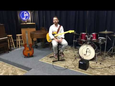 Libor Smoldas solo jazz guitar at Henriksen Amps