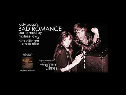 Tekst piosenki Malese Jow - Bad Romance (corver)  ft. Nick Dillinger po polsku
