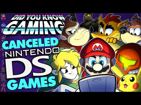 Every Cancelled Nintendo DS Game - Did You Know Gaming? Ft. Remix