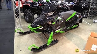 6. 2015 Arctic Cat ZR 9000 El Tigre Snowmobile - Walkaround - 2014 Toronto ATV Show