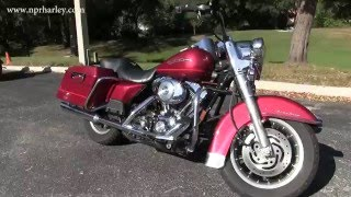 10. Used 2004 Harley Davidson FLHR Road King