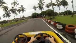 Karting Koh Samui Thailand On Board View GoPro 3 Black Edition HD