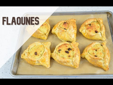 Paul Hollywood's Flaounes | #GBBO S06E06 | Pastry