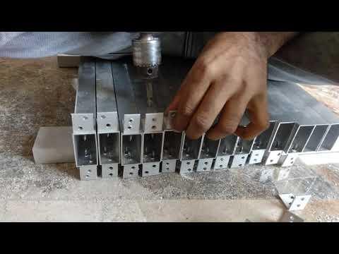 Work time renddomly shoot video🔥👍#woodwork  Aluminium frame  Drill machine