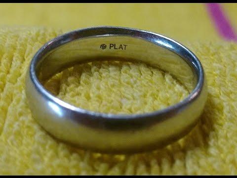 My first ever Platinum Ring. Metal Detecting Daytona Beach