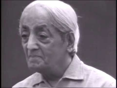 Why does sex play such an important part in life? | J. Krishnamurti