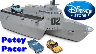 Disney Combat Ship Battle Station Playset CARS 2 with Grem Petey Pacer, Gremlin toys Disney Pixar