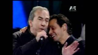 Marc Anthony con José Luis Perales Viña del Mar 2012