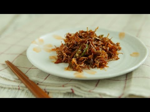 korean spicy stir-fried anchovy, maeun myulchi boggeum, 매운멸치볶음