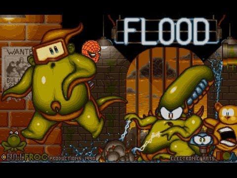 flood amiga game