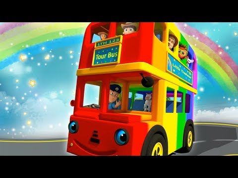 Wheels On The Bus | Nursery Rhymes for Children