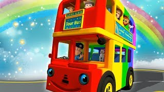 Video Wheels On The Bus Nursery Rhymes for Children MP3, 3GP, MP4, WEBM, AVI, FLV Juni 2018